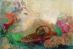 謎めいた絵画を制作し続けた孤高の芸術家 オディロン・ルドンの新しい側面に光をあてて、あらためて捉えなおす。