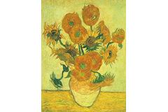 画家ポール・ゴーギャンのために描いた《ひまわり》。黄色い背景で、黄色いひまわりを引き立てる!?背景色を模索しながら何作品も描いたファン・ゴッホの7点の《ひまわり》を辿る。