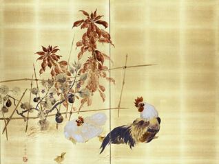 松岡コレクション 屛風と掛軸 大画面の魅力・多幅対の愉しみ