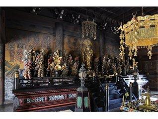 京都・仁和寺観音堂(にんなじかんのんどう) 千手観音像とその仲間たち