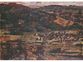 秋季展「山と樹を描く」