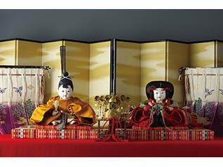 ~桐村喜世美氏所蔵品受贈記念~岩﨑家のお雛さまと御所人形
