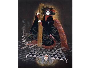 館蔵日本画 伝統芸能と音色の響き