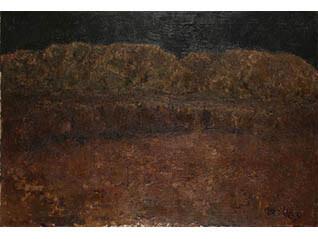 鳥海青児とその時代 半世紀ぶりの公開《瀬戸の山》所蔵品展
