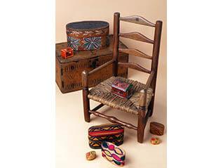 ―芹沢銈介の収集品より― 芹沢が愛した椅子と木箱