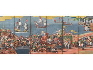 特別展「交流の軌跡―初期洋風画から輸出漆器まで」