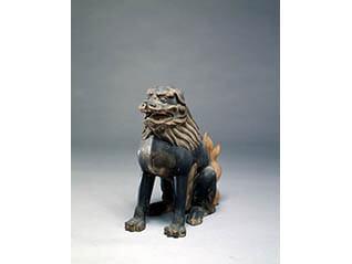 特集展示 神像と獅子・狛犬