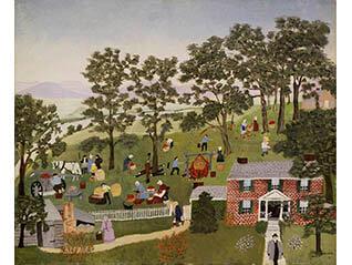 生誕160年記念 グランマ・モーゼス展―素敵な100年人生