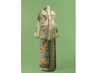 サロンクバヤ―シンガポール 麗しのスタイル つながりあう世界のプラナカン・ファッション