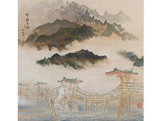 日本画家 福田眉仙展