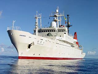企画展「世界の海がフィールド!学術研究船『白鳳丸』30年の航跡」
