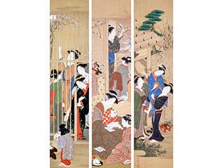 所蔵 浮世絵展 江戸の華