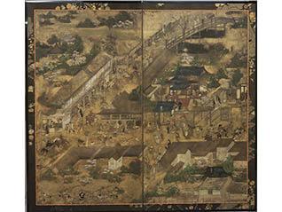 京都文化プロジェクト 誓願寺門前図屏風 修理完了記念  花ひらく町衆文化 -近世京都のすがた