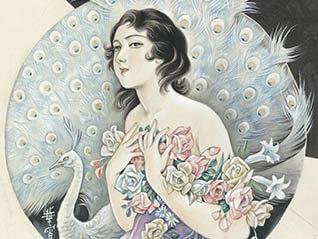 大正ロマン・昭和モダンのイラストレーター 高畠華宵展 ―ジェンダーレスな まなざし―