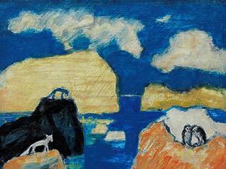 アートギャラリー北海道 北海道銀行創立70周年 道銀文化財団創立30周年記念 北海道銀行コレクション