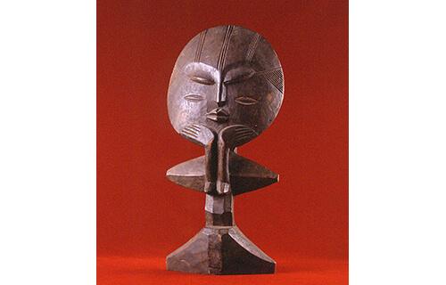 アフリカの仮面と彫像 本郷新記念札幌彫刻美術館-3