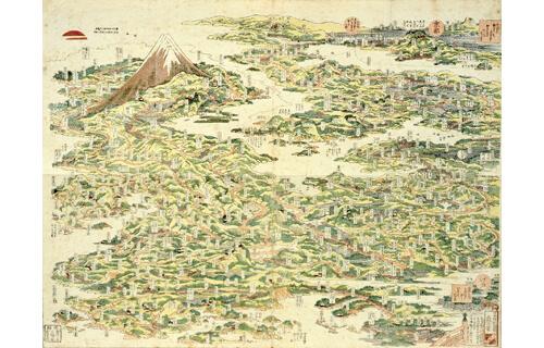 てくてく東海道-北斎と旅する五十三次- すみだ北斎美術館-2