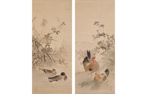 近代の日本画展 五島美術館-1