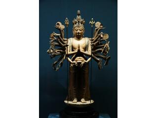 加茂神社(為星寺)の千手観音立像(重要文化財)期間限定公開