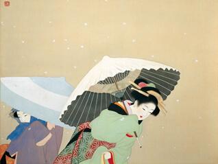 耳を澄ませば ささやく日本画