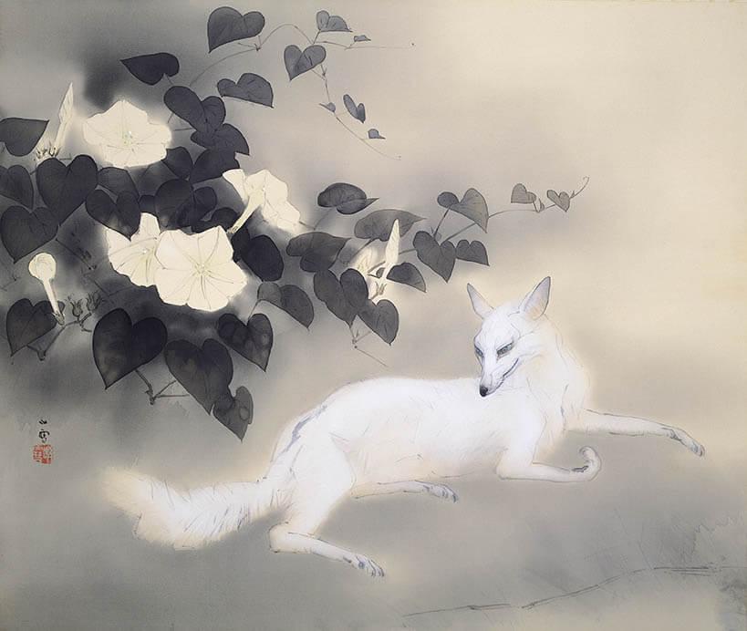 動物画を中心とする全所蔵作品を一堂に 生誕135年 孤高の画家 橋本関雪 足立美術館-1