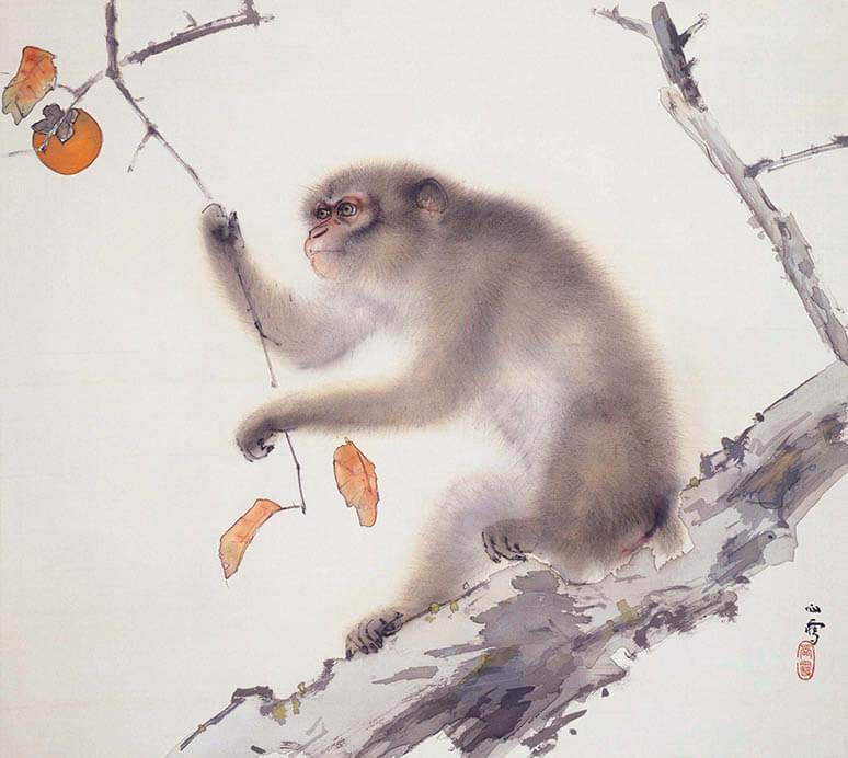 動物画を中心とする全所蔵作品を一堂に 生誕135年 孤高の画家 橋本関雪 足立美術館-2