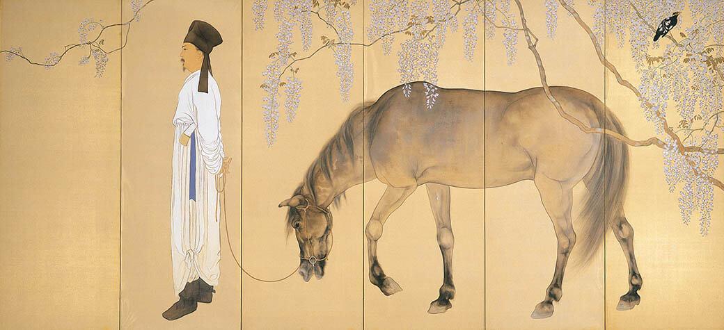 動物画を中心とする全所蔵作品を一堂に 生誕135年 孤高の画家 橋本関雪 足立美術館-3