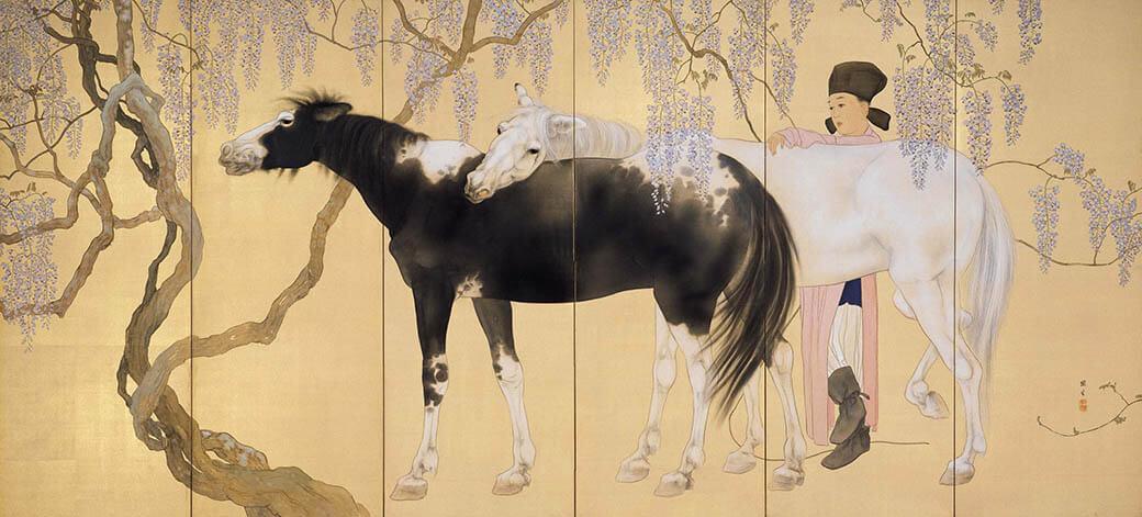 動物画を中心とする全所蔵作品を一堂に 生誕135年 孤高の画家 橋本関雪 足立美術館-4