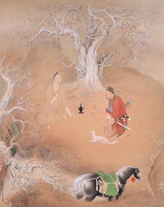 動物画を中心とする全所蔵作品を一堂に 生誕135年 孤高の画家 橋本関雪 足立美術館-5