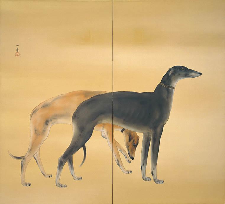 動物画を中心とする全所蔵作品を一堂に 生誕135年 孤高の画家 橋本関雪 足立美術館-6