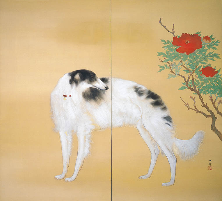 動物画を中心とする全所蔵作品を一堂に 生誕135年 孤高の画家 橋本関雪 足立美術館-7