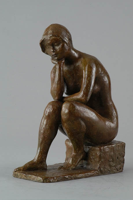 コレクション展 ふれる彫刻・手でみるアート 本郷新記念札幌彫刻美術館-6