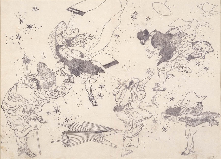 浦上コレクション 北斎漫画:驚異の眼、驚異の筆 うらわ美術館-8