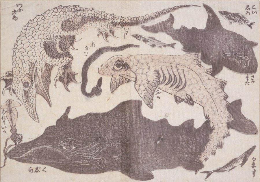 浦上コレクション 北斎漫画:驚異の眼、驚異の筆 うらわ美術館-1