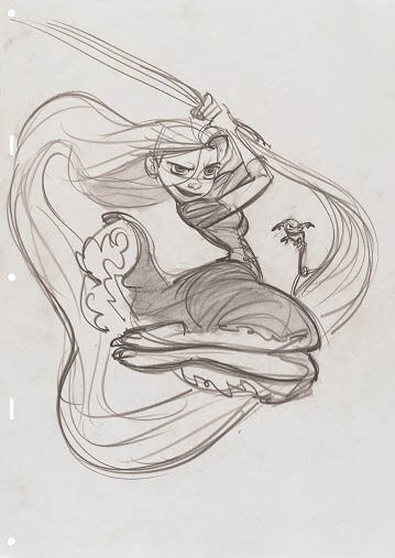 ディズニー・アート展 いのちを吹き込む魔法 宮城県美術館-9