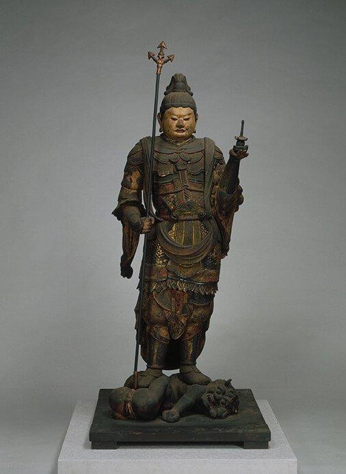 特別展 仏像の姿 ~微笑む・飾る・踊る~ 三井記念美術館-2