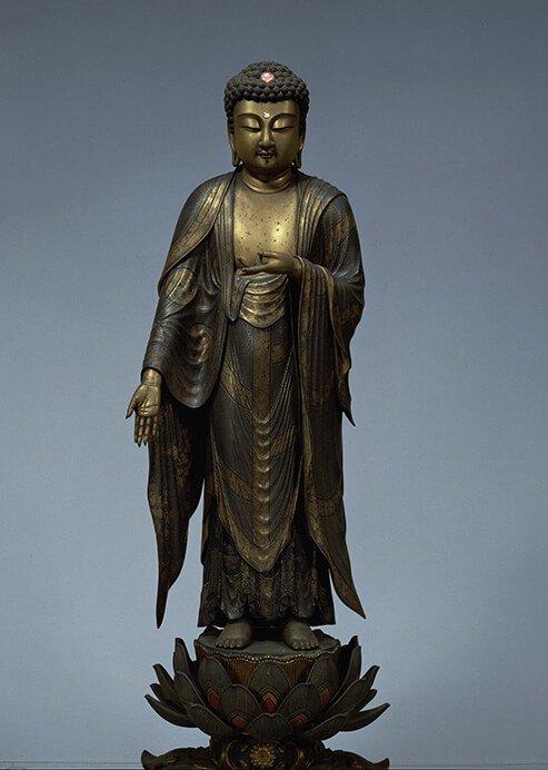 特別展 仏像の姿 ~微笑む・飾る・踊る~ 三井記念美術館-3