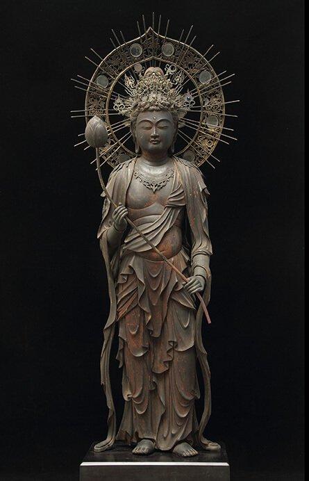 特別展 仏像の姿 ~微笑む・飾る・踊る~ 三井記念美術館-4