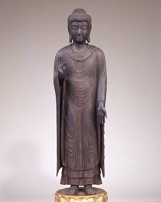 特別展 仏像の姿 ~微笑む・飾る・踊る~ 三井記念美術館-5