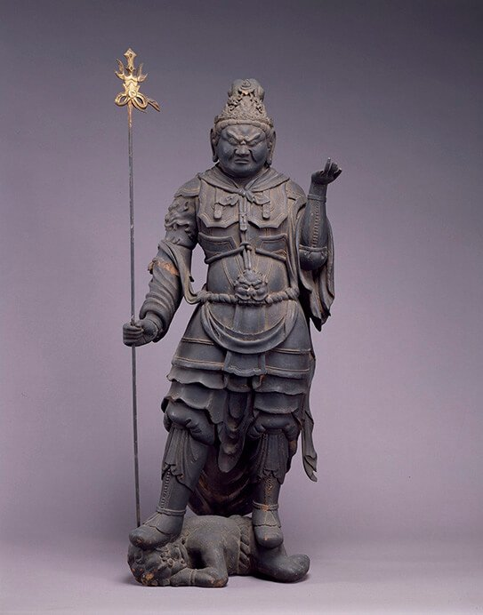 特別展 仏像の姿 ~微笑む・飾る・踊る~ 三井記念美術館-6