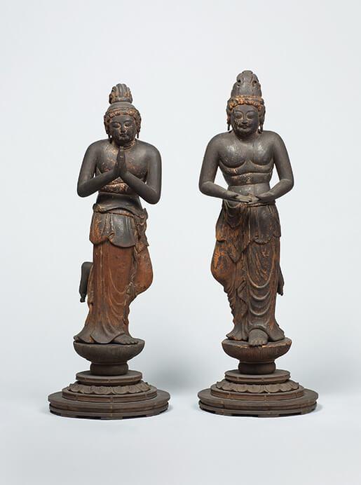 特別展 仏像の姿 ~微笑む・飾る・踊る~ 三井記念美術館-8