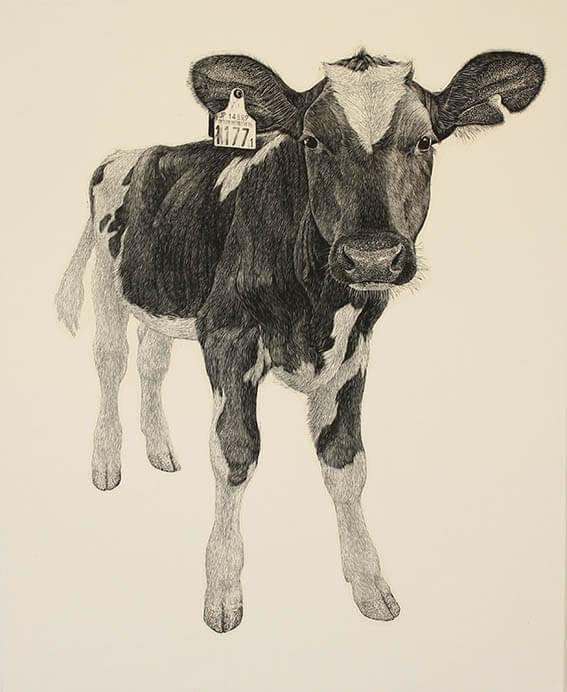 牛の足音―冨田美穂 牛の木版画展― 神田日勝記念美術館-7