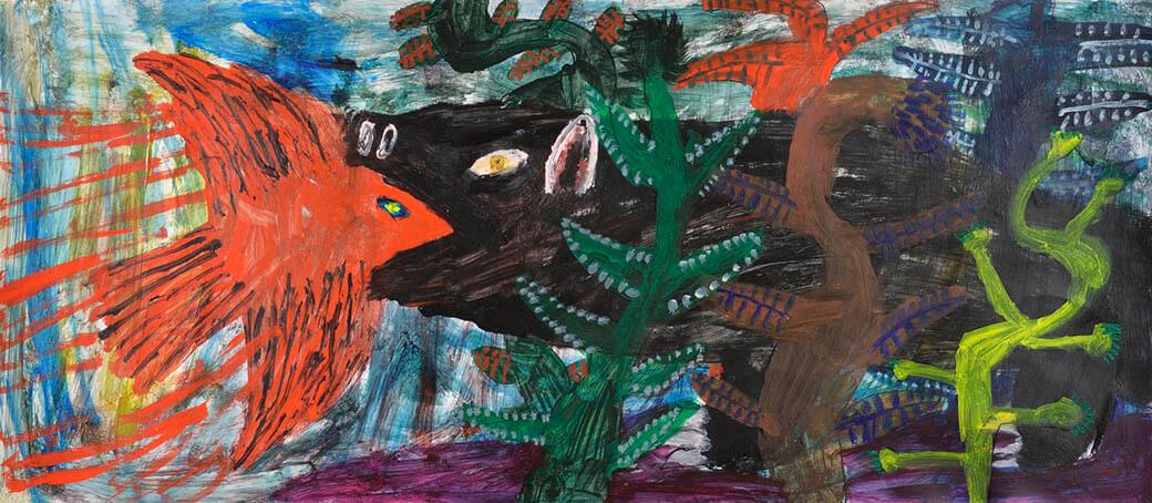特別展「ブラティスラヴァ世界絵本原画展 BIBで出会う絵本のいま」 奈良県立美術館-4