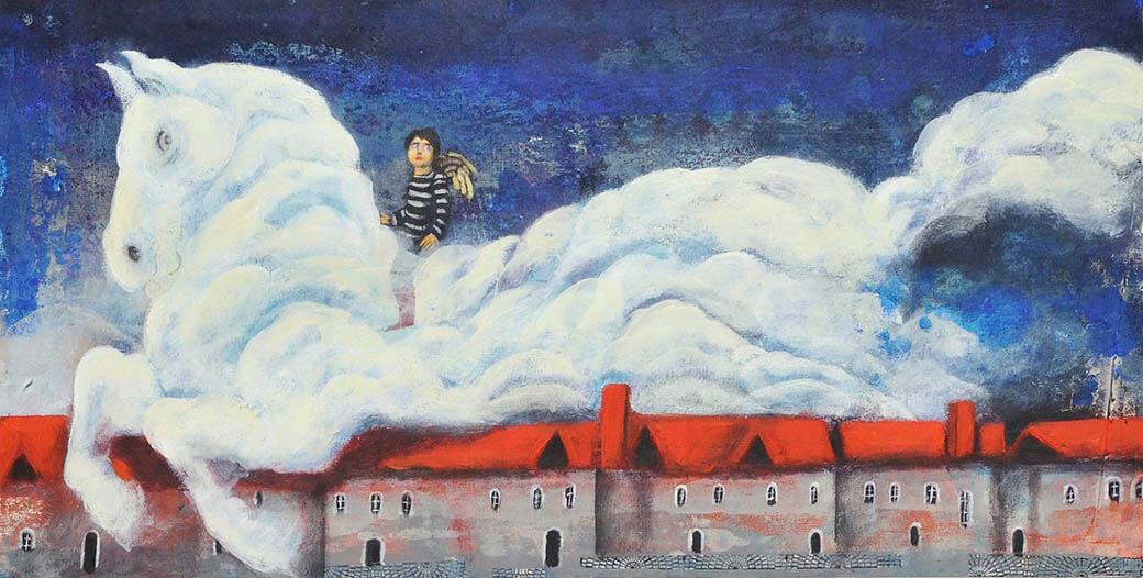 特別展「ブラティスラヴァ世界絵本原画展 BIBで出会う絵本のいま」 奈良県立美術館-6