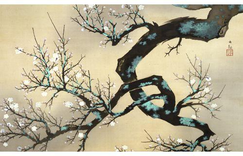 館蔵日本画展 日本美術院の画家たち1・2 松岡美術館-5
