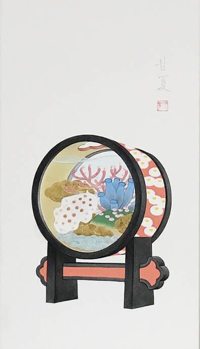 蒼野甘夏 日本画展 神田日勝記念美術館-4