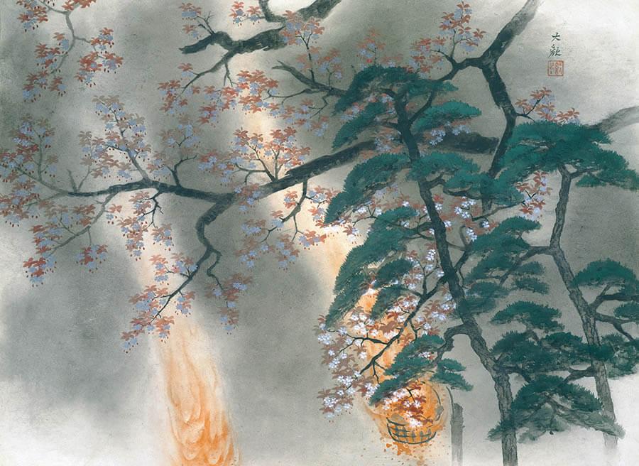 日本画家のつながり 横山大観をめぐる人物相関図  足立美術館-2