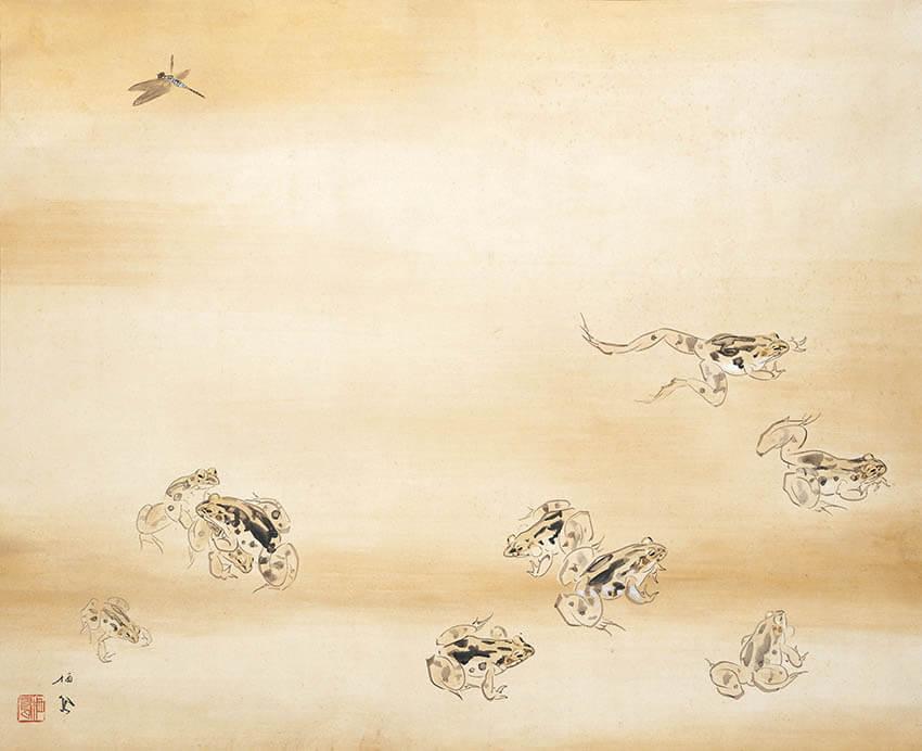 日本画家のつながり 横山大観をめぐる人物相関図  足立美術館-4
