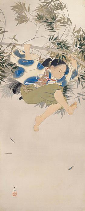 日本画家のつながり 横山大観をめぐる人物相関図  足立美術館-7