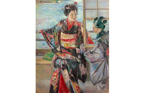 特別展「生誕150年 黒田清輝─日本近代絵画の巨匠」 東京国立博物館-5